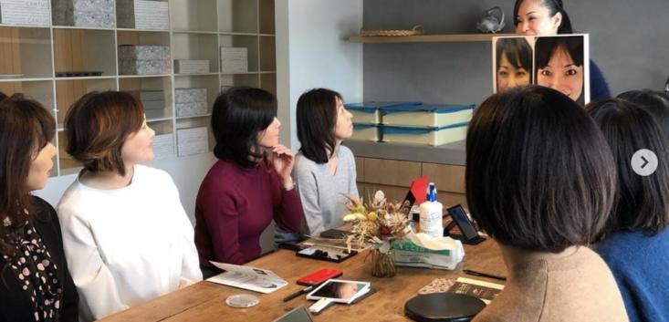 顔ヨガベーシックレッスン(札幌市円山のドーナツ屋さんCANTUS-カントス-さんにて)